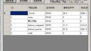 彩虹IIS流量监控助手发布(完全开源)