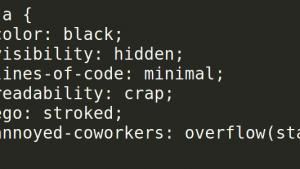 神级Coder绝不犯的错误:为炫耀编出超短码