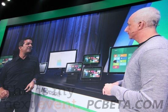 Windows 8可运行在不同芯片架构的设备上